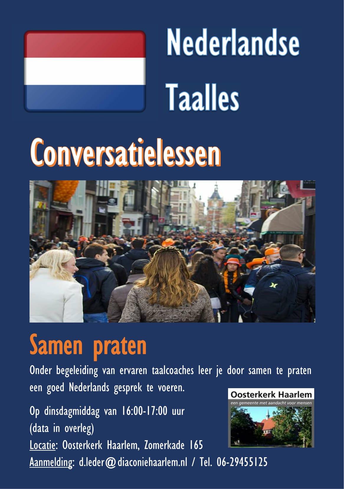 Conversatielessen @ Oosterkerk | Haarlem | Noord-Holland | Nederland